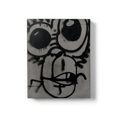 Urban Fragments - MONKEY 24x30cm - Bertrand Jayr