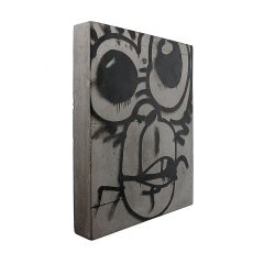 Urban Fragments - MONKEY 24x30cm - Bertrand Jayr