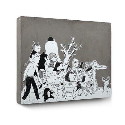 Urban Fragments - ALTOGETHER – 30x24cm – Delphine Perret