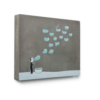 Urban Fragments - SOUFFLE – 30x24cm – Delphine Perret