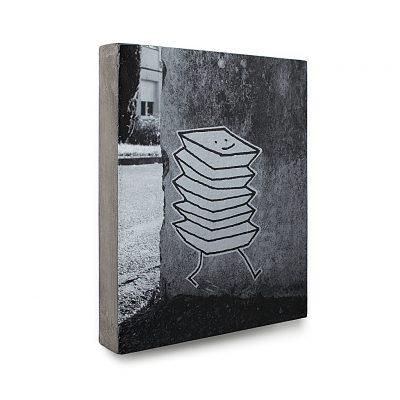 Urban Fragments - ACCORDEON – 24x30cm – Delphine Perret