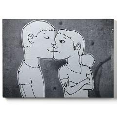 Urban Fragments – LES AMOUREUX – 24x30cm – Lucie Albon