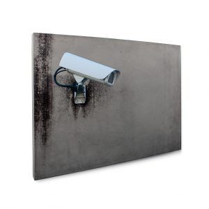 Urban Fragments - BIG BROTHER 70x50cm - Bertrand Jayr