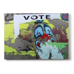 Urban Fragments - VOTE 50x70cm - Bertrand Jayr