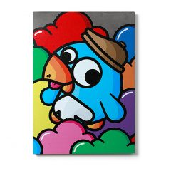 Urban Fragments - BERET 50x70cm – Birdy Kids
