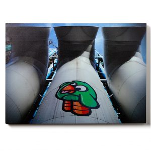 Urban Fragments - BEAUBOURG 50x70cm – Birdy Kids