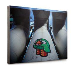 Urban Fragments - BEAUBOURG 50x70cm – Birdy Kids