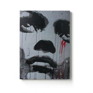 Urban Fragments – ROUGE PLEUR – 50x70cm – Hagen Design
