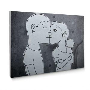 Urban Fragments – LES AMOUREUX – 50x70cm – Lucie Albon