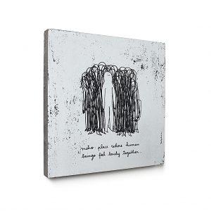 Urban Fragments - METRO – 40x40cm – Delphine Perret