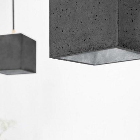 GANTlights GANT lights B1 hanglamp beton donkergrijs-ZILVER