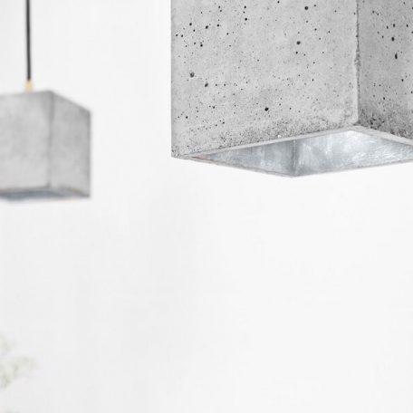 GANTlights GANT lights B1 hanglamp beton lichtgrijs_ZILVER