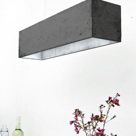 GANTlights GANT lights B4 hanglamp beton donkergrijs_ZILVER
