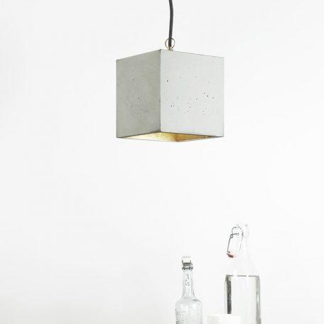 GANTlights GANT lights B5 hanglamp beton lichtgrijs_GOUD