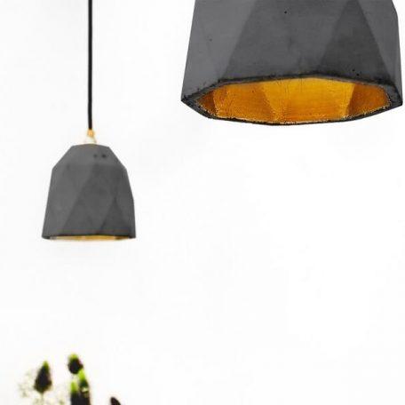 GANTlights T1 Hanglamp Beton donkergrijs - GOUD