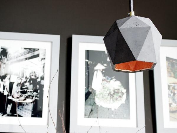 GANTlights T2 Hanglamp Beton donkergrijs