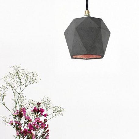 GANTlights T2 Hanglamp Beton donkergrijs_KOPER
