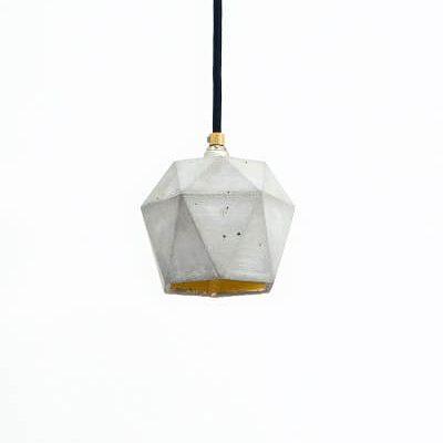 GANTlights T2 Hanglamp Beton lichtgrijs