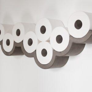 Toiletrolhouder beton - Lyon Beton CLOUD S toiletrolhouder