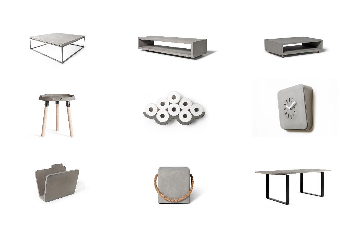 Lyon Beton - Meubels en woonaccessoires van beton
