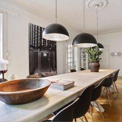 Mater Design SHADE - grote zwarte hanglamp van aluminium - Ø40cm of Ø60cm (ZWART)
