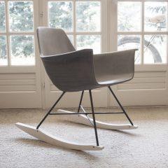 Lyon Beton HAUTEVILLE Schommelstoel van beton - Rocking Chair