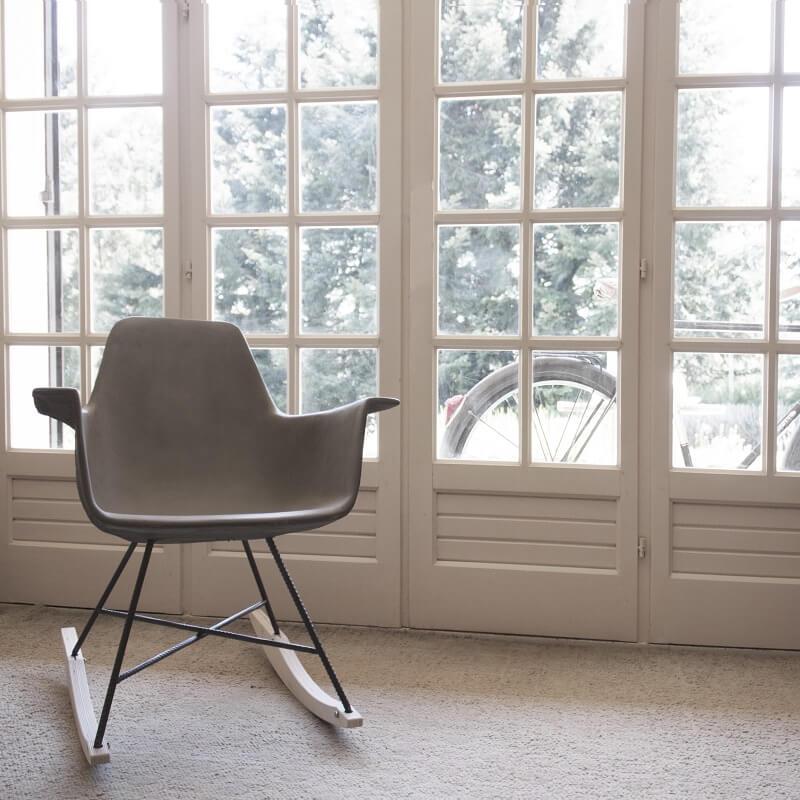 lyon beton schommelstoel van beton dar. Black Bedroom Furniture Sets. Home Design Ideas