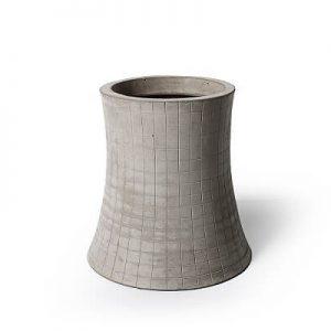 Lyon Beton NUCLEAR PLANT - plantenpot van beton