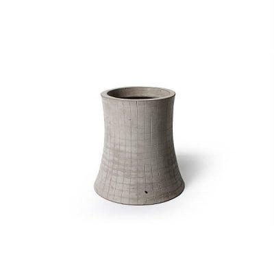 Lyon Beton NUCLEAR PLANT (S) - bloempot, plantenbak van beton (1)