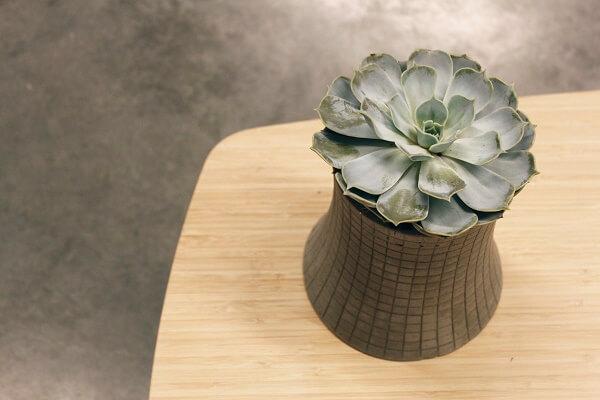 Lyon Beton NUCLEAR PLANT (S) - bloempot, plantenbak van beton (7)
