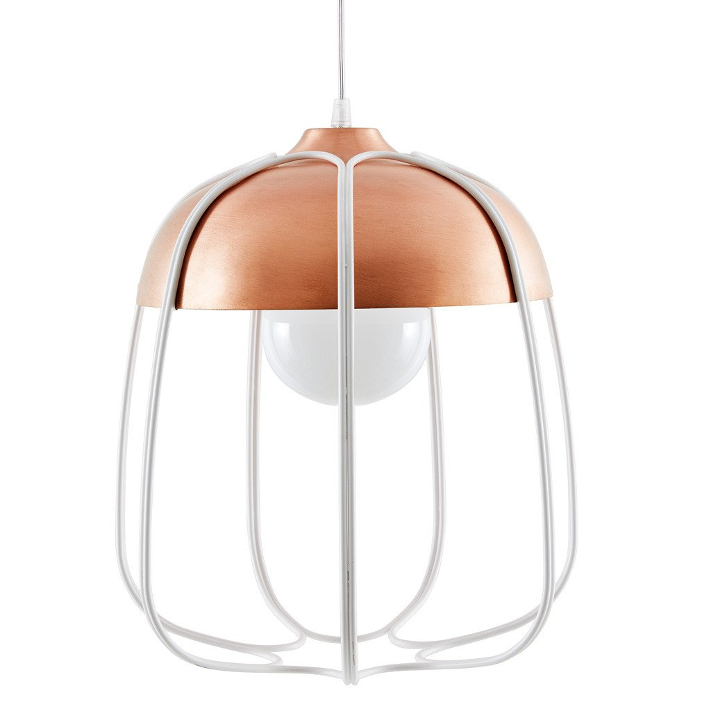 INCIPIT TULL lamp_copper coated-white