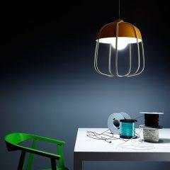 INCIPIT TULL hanglamp_oranje-beige