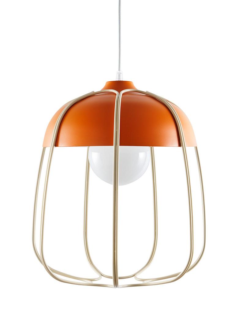 INCIPIT TULL hanglamp oranje_beige