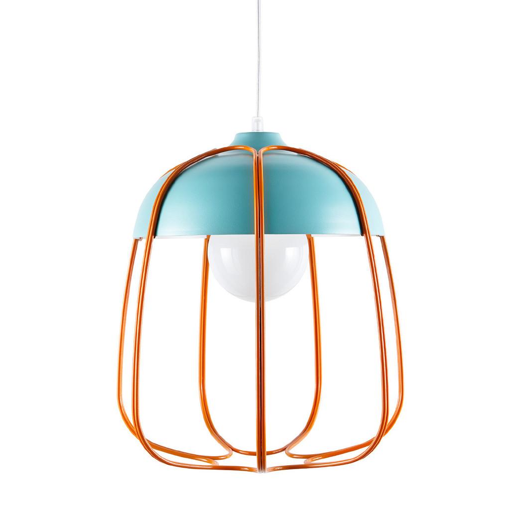 INCIPIT TULL lamp_turquoise-orange