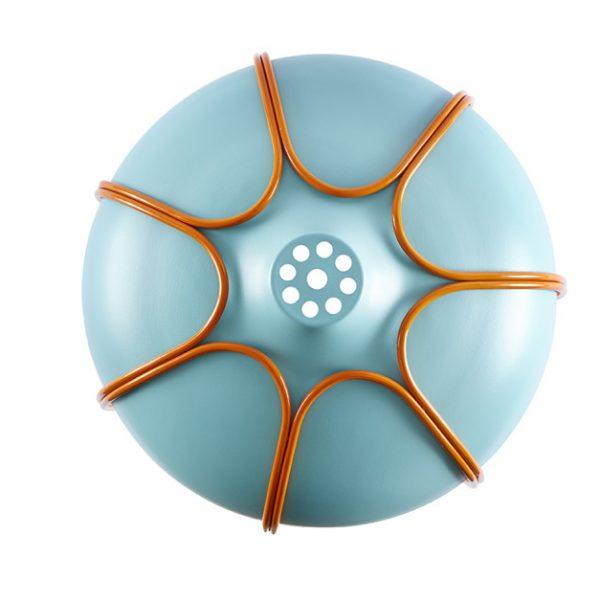 INCIPIT TULL hanglamp turquoise_oranje