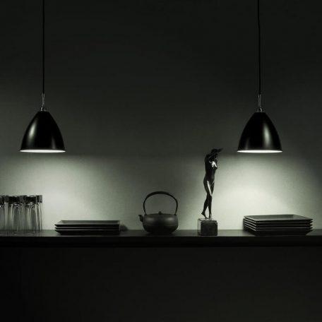 GUBI Bestlite BL9L - hanglamp van metaal, fitting chroom (2)
