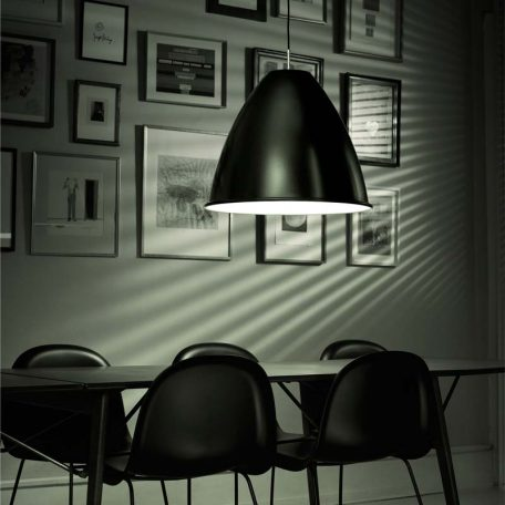 GUBI Bestlite BL9XL - metalen hanglamp van 60cm - ZWART (3)