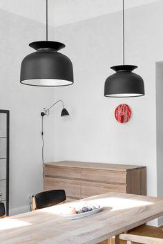 GUBI RONDE - grote hanglamp rond, klokvormig Ø40cm