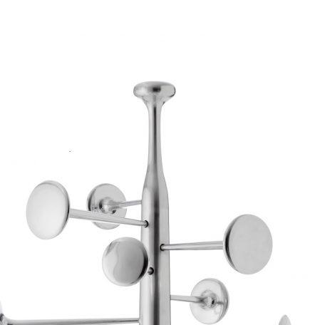 MATER DESIGN TRUMPET - vloerstaande kapstok van aluminium (2)