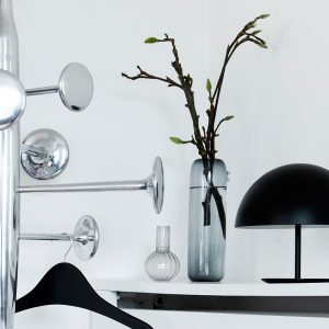 Mater Design BABY DOME - aluminium tafellamp 25cm - ZWART