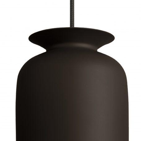 GUBI RONDE - hanglamp rond, langwerpig (Ø20cm) - zwart