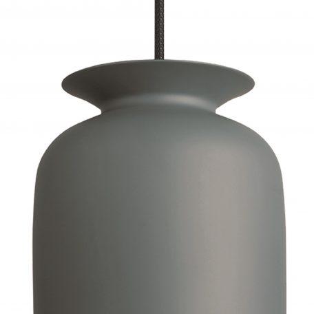 GUBI RONDE - hanglamp rond, langwerpig (Ø20cm) - grijs