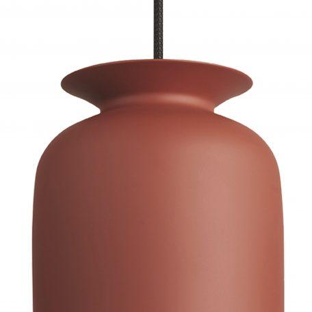 GUBI RONDE - hanglamp rond, langwerpig (Ø20cm) - rood