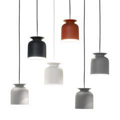 GUBI RONDE - hanglamp rond, langwerpig (Ø20cm)