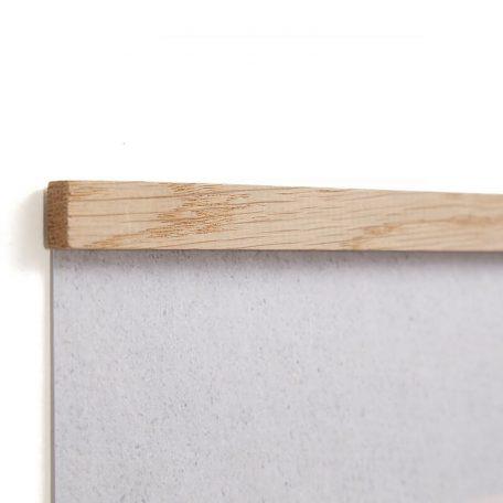 By WIRTH WALL STICKS - Posterlijst van eiken 50cm (1)