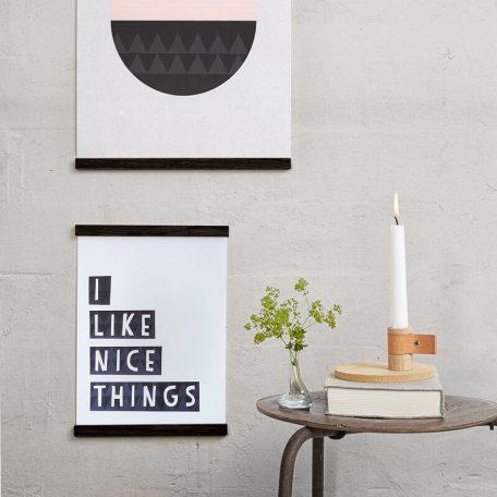 By WIRTH WALL STICKS - Posterlijst van eiken 50cm (5)