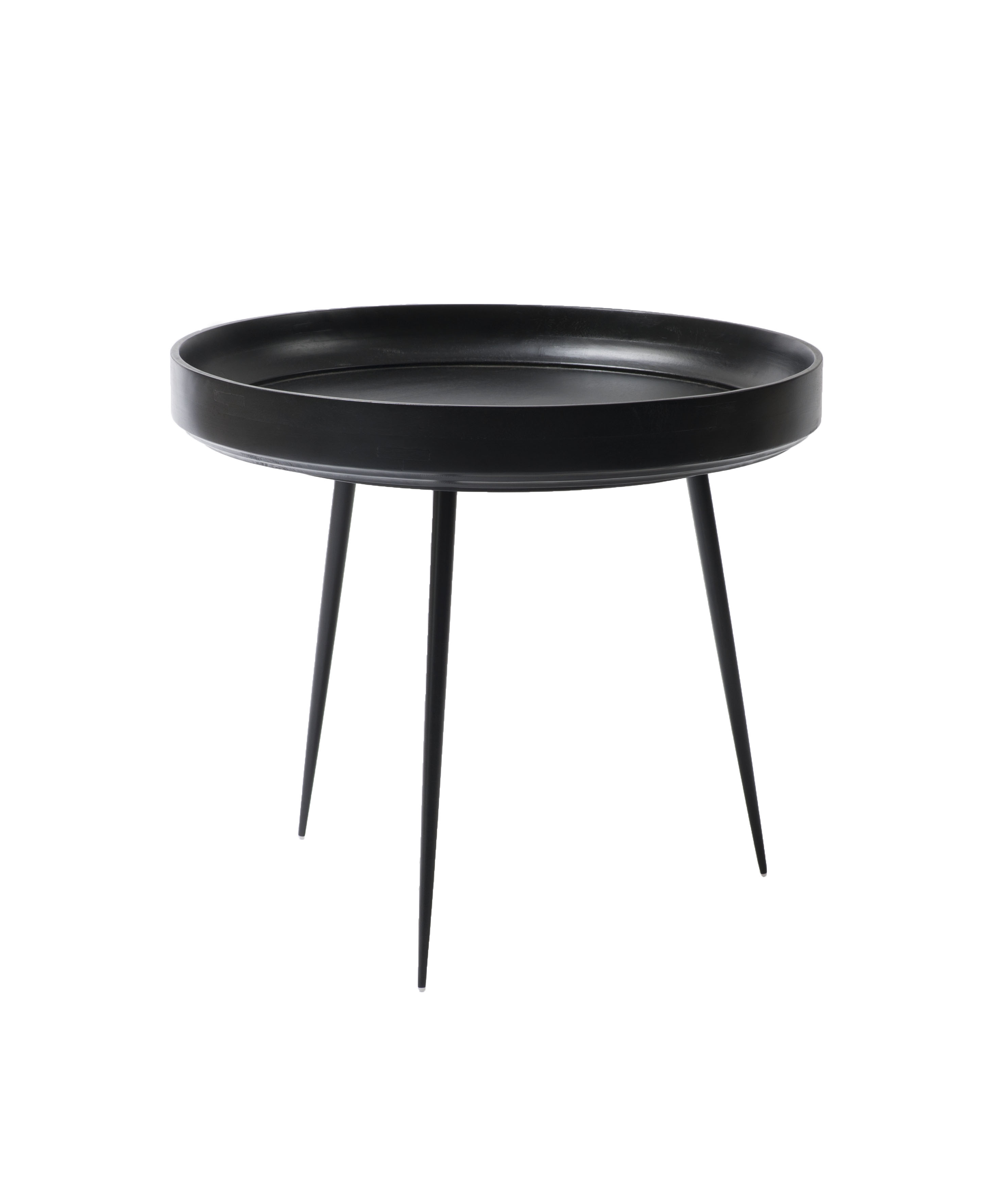 Mooie Design Bijzettafel.Mater Design Bowl Ronde Bijzettafel Van Hout L O52cm