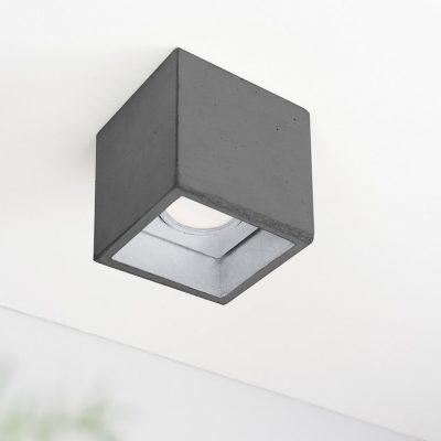 GANTlights B7, GANT lights B7 plafondlamp spot beton donkergrijs