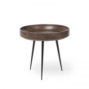 MATER Design BOWL TABLE - houten bijzettafel (Small) - GRIJS (01606)