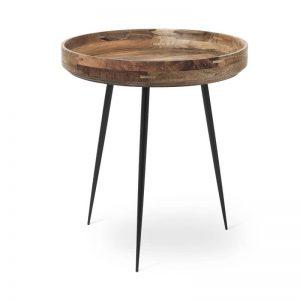Mater Design BOWL TABLE - houten bijzettafel rond (Medium) - NATUREL - 01604